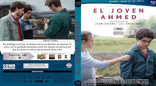 CARTULA EL JOVEN AHMED 2019[COVER BLU-RAY]