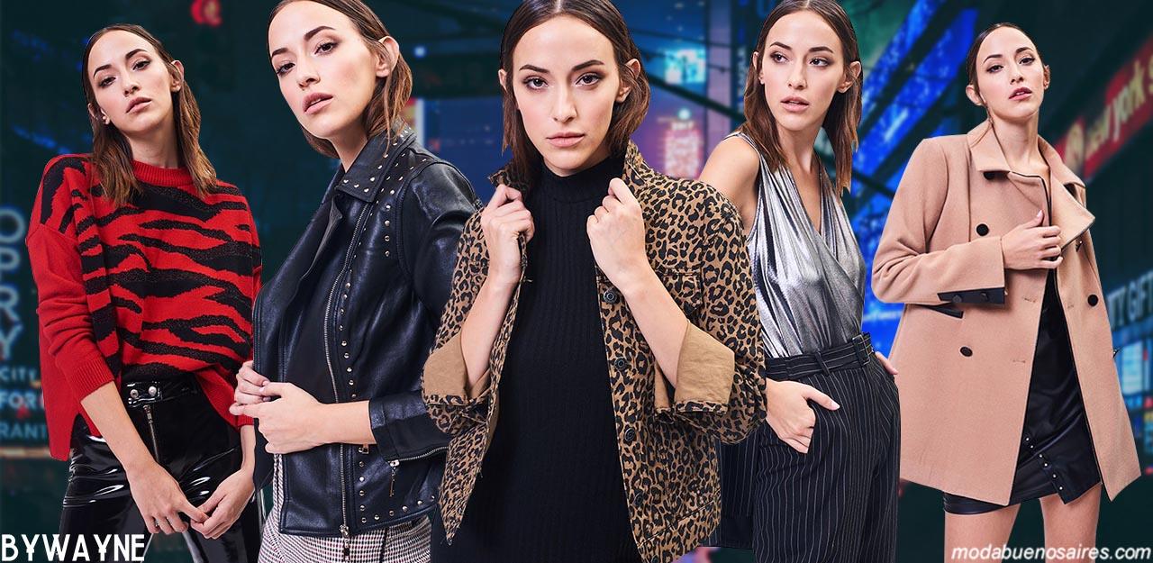 Moda invierno 2019 │ Ropa de mujer invierno 2019. Moda urbana invierno 2019: Pantalones, vestidos, remeras, blusas, tapados y camperas invierno 2019.