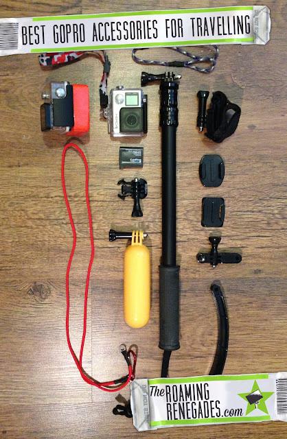 Best GoPro Accessories for travel & Adventure