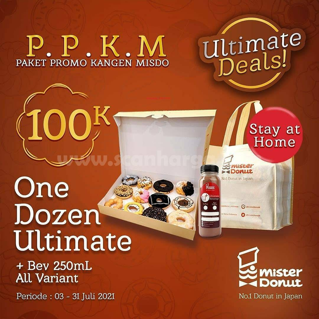 Mister Donut Promo PPKM (Paket Promo Kangen MISDO)