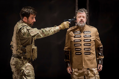 Monteverdi: Il ritorno d'Ulisse in patria - The Grange Festival - Thomas Elwin, Paul Nilon (photo Robert Workman)