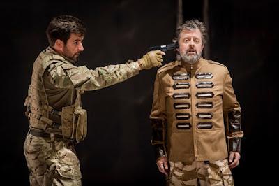 Monteverdi: Il ritorno d'Ulisse in patria - The Grange Festival - Thomas Elwin, Paul Nilon (photo Robert Workman)