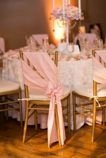 sedie decorate con tessuto