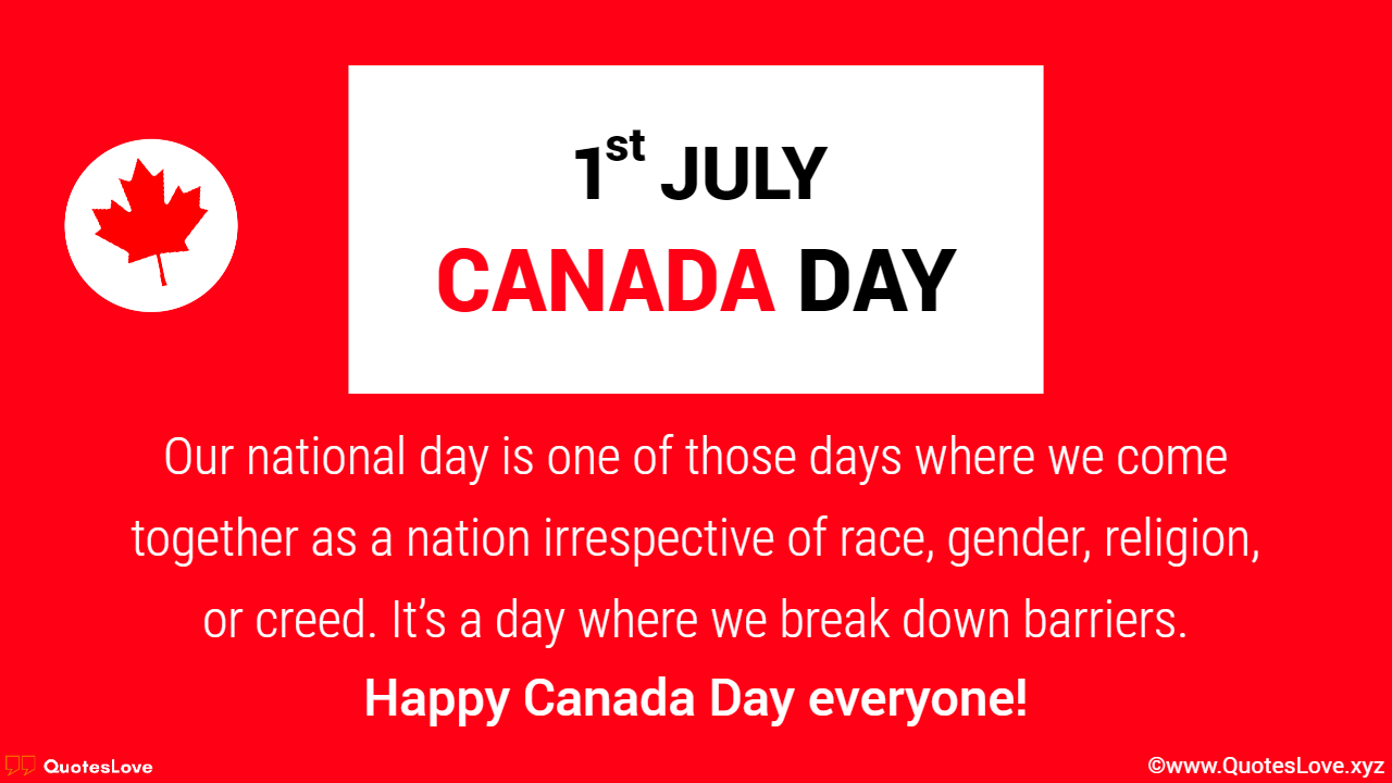 Happy Canada Day Wishes, Greetings, Messages & Images, Pictures For Friends & Family
