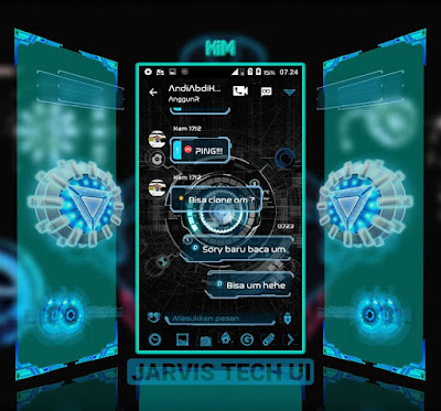 Droid Chat! V11.1.18 Jarvis Tech UI  3.0.0.18 Apk