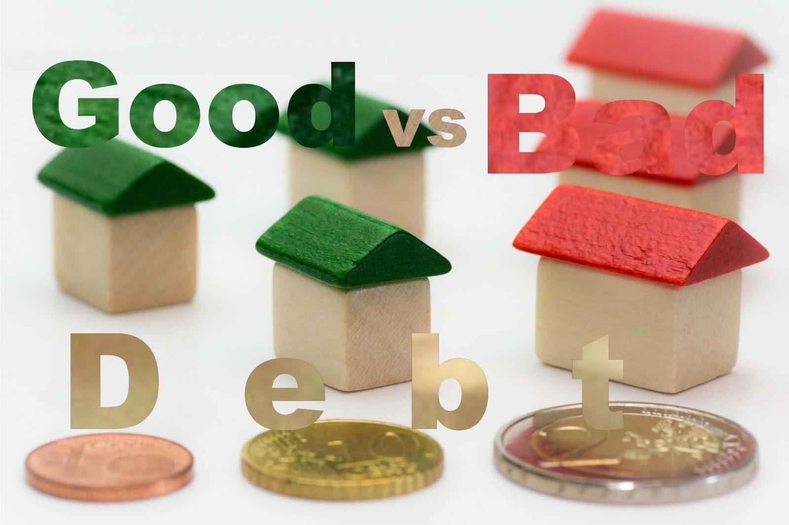 Difference Between Good Debt vs Bad Debt