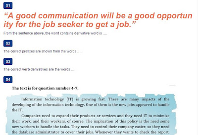 Contoh Soal Working in Changing World , Reading Comprehension and Vocabulary Building