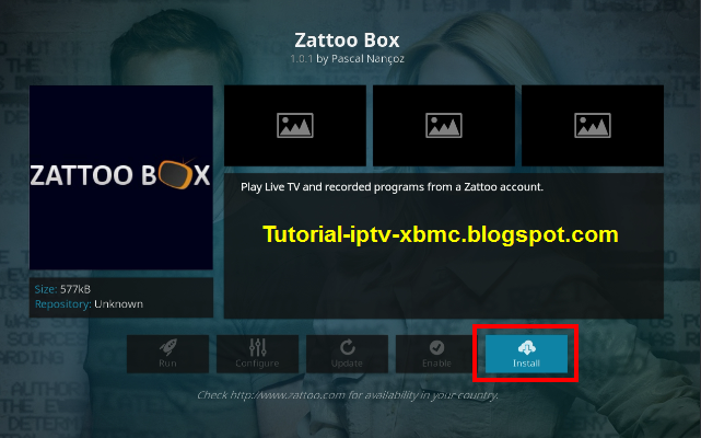 Zattoo Box Addon Kodi Live TV Addon For Kodi - New Kodi