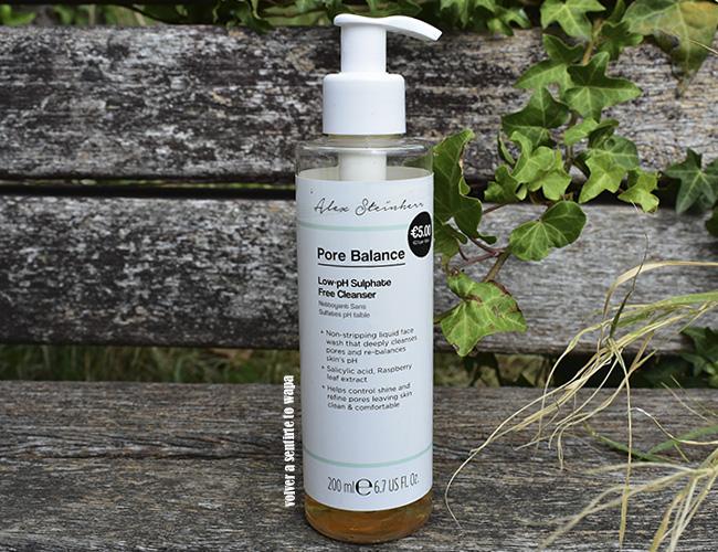 Línea de cosmética de Alessandra Steinherr en Primark - Pore Balance - Low-pH Sulphate Free Cleanser