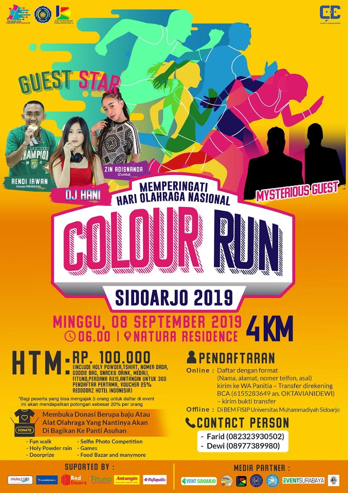 Colour Run Sidoarjo • 2019