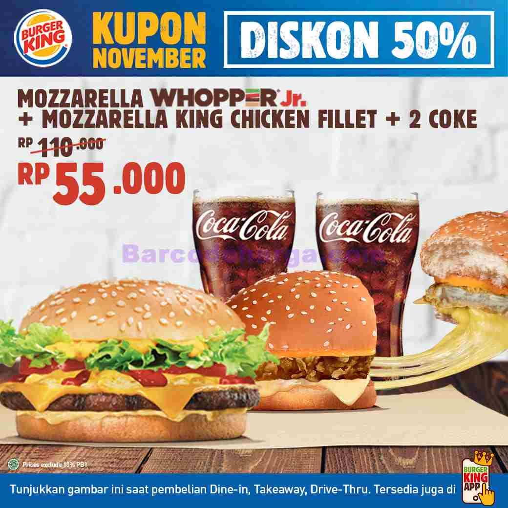 Harga Promo Burger King Terbaru Desember 2020 Barcodeharga Harga Promo Alfamart Indomaret Giant Hypermart Superindo Lottemart Carrefour