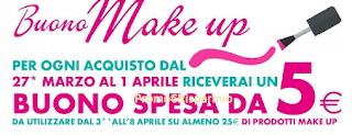 Logo IperSoap ti regala un Buono MakeUp da 5 euro