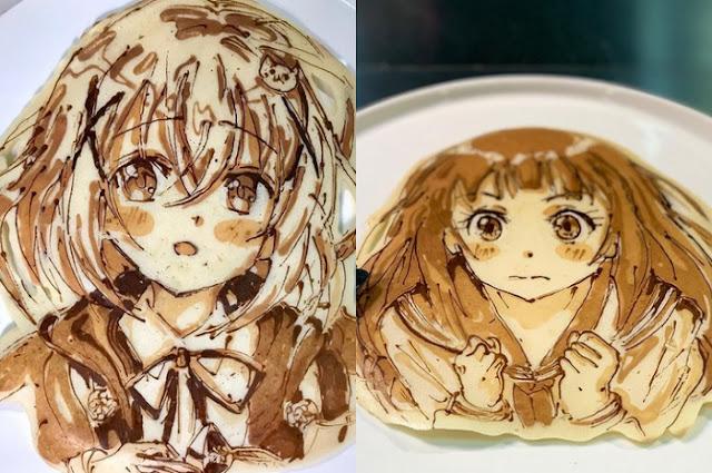Keren! Koki Berbakat Ini Membuat Pancake yang Terinspirasi dari Karakter Anime