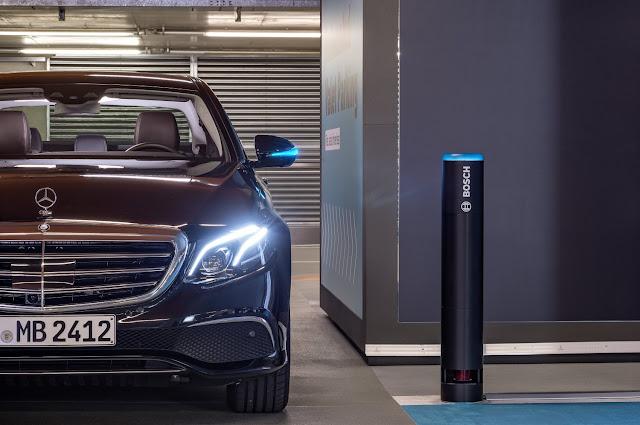 Bosch e Daimler primeiras a obter licença para parque de estacionamento autónomo sem supervisão humana