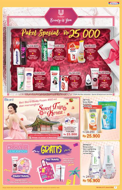 Super Hemat Mingguan Promo Indomart Periode 31 Januari - 6 Februari  2018