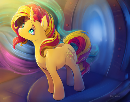 Sunset Shimmer - Forgiveness in Her Light