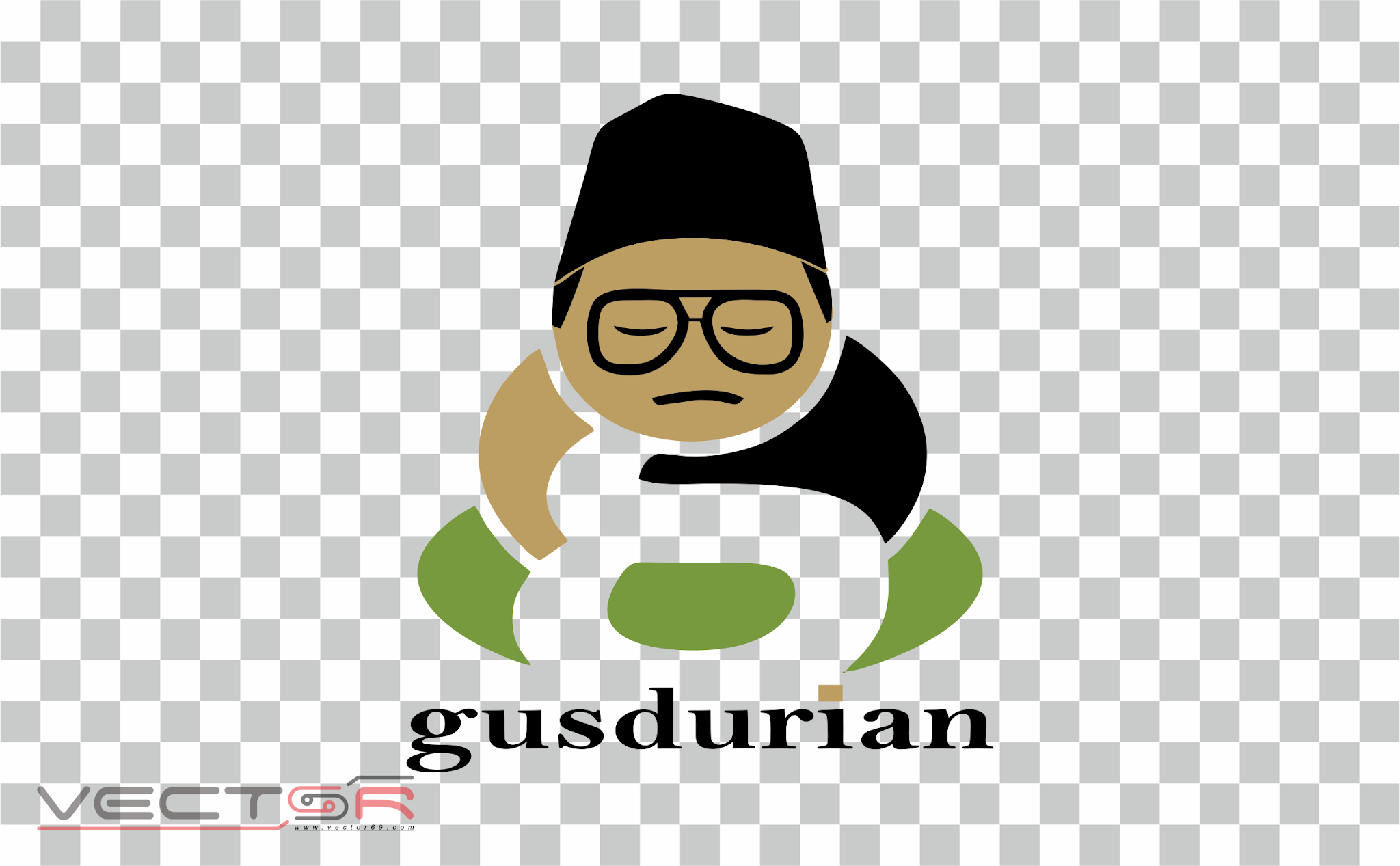 Gusdurian Logo - Download Vector File PNG (Portable Network Graphics)