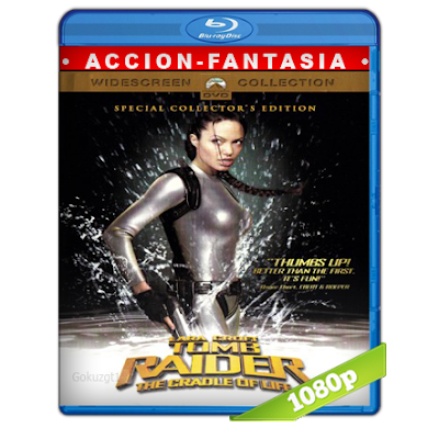 Lara Croft Tomb Raider 2 (2003) BRRip Full 1080p Audio Trial Latino-Castellano-Ingles 5.1