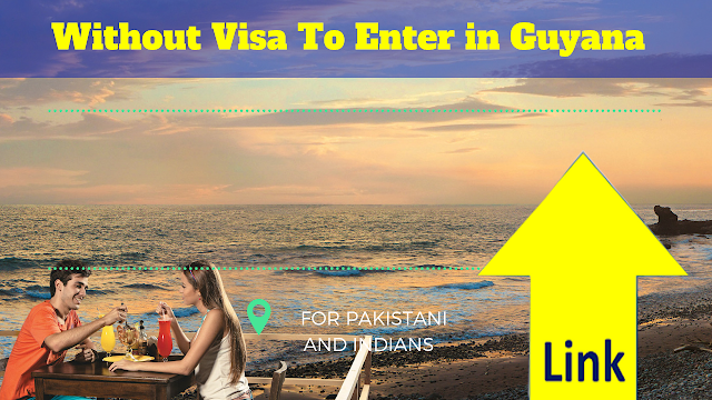 Without Visa To Enter in Guyana