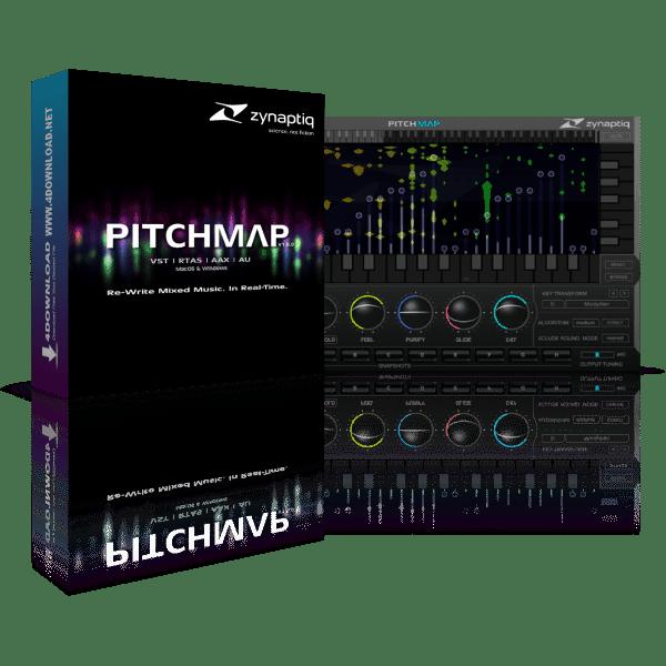 Zynaptiq PITCHMAP v1.7.0 Full version