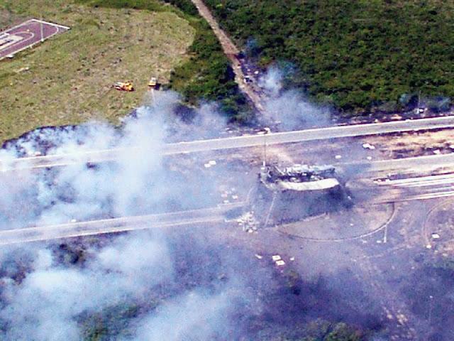 Acidente em Alcântara em 2003