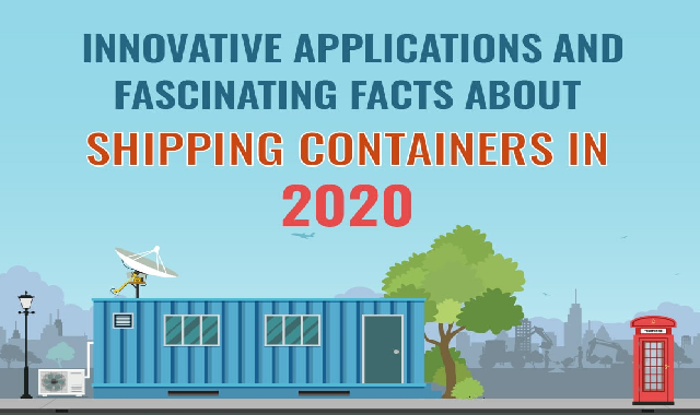 Innovative Applications and Facts About Shipping Containers in 2020 #infographic