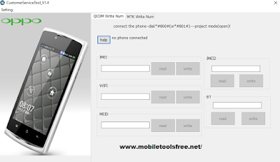 Download Oppo IMEI Repair Tool Latest Version 1.4 Free