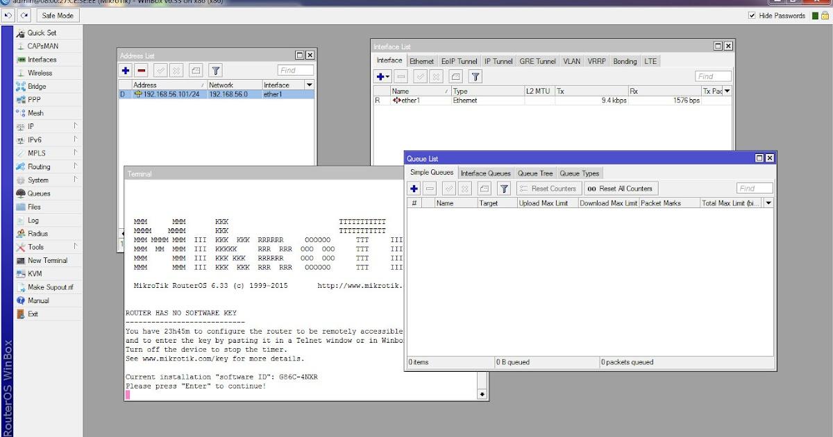 Belajar Setting Mikrotik via Winbox di VirtualBox | Free