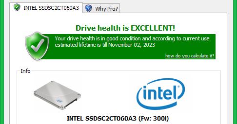 SSD Life Free 2.5.0.82 免安裝中文版 - 免費固態硬碟檢測軟體