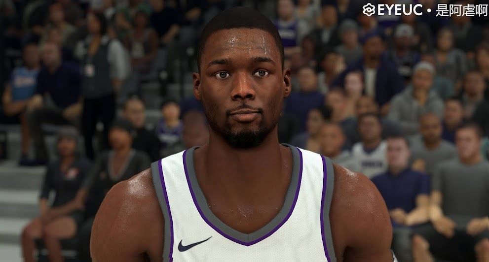 Harrison Barnes Cyberface and Body Model by SteveDai [FOR 2K21]