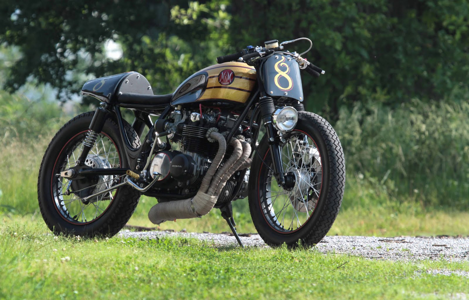 Honda CB500 Cafe Racer - way2speed