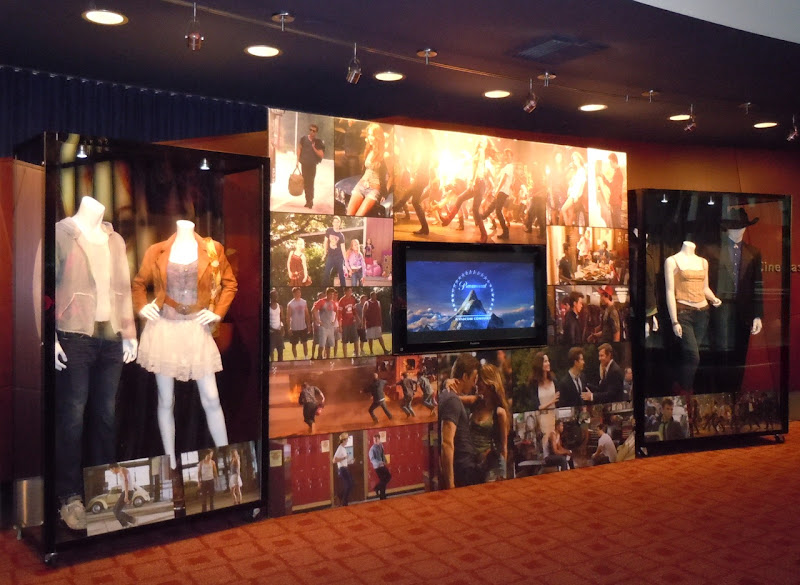 Footloose remake costume exhibit