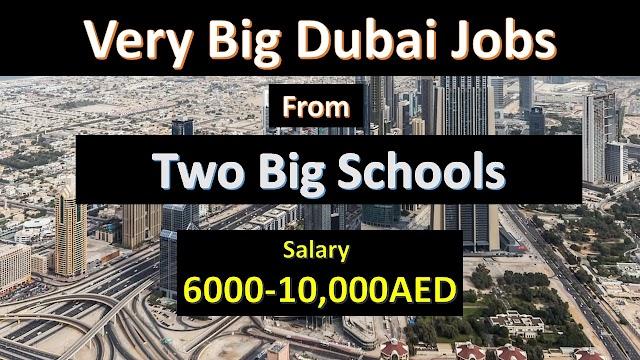Teaching Vacancies In Dubai Schools 2020.