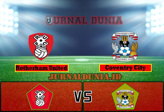 Prediksi Rotherham United vs Coventry City , Jumat 16 April 2021 Pukul 01.00 WIB
