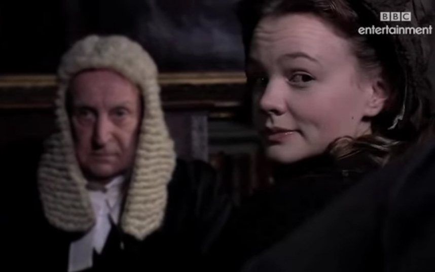 Mulligan played Ada Carstone, a young girl due to inherit a large fortune in the BBC adaptation of Dickens's classic novel.