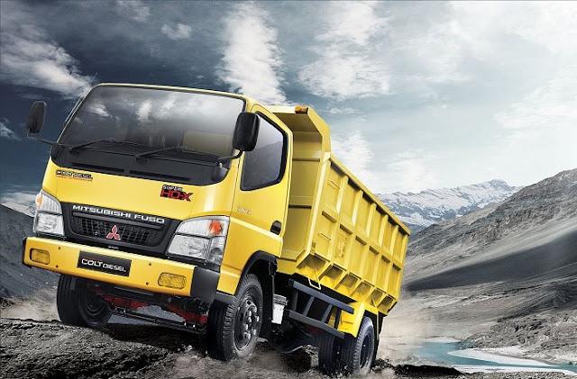 kredit dp rendah colt diesel dump truck 2020