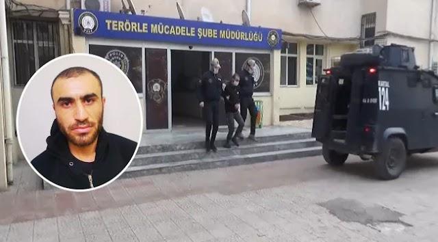 Suruç'ta 33, Sultanahmet'te 10 kişinin ölümüne neden olan zanlı yakalandı