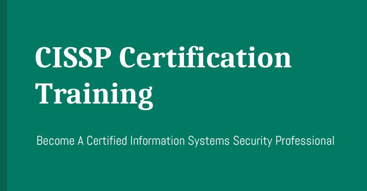 cissp certification online training course