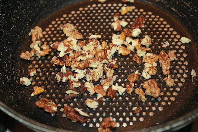 рецепт салата с грушей и сыром с голубой плесенью с пошаговыми фото