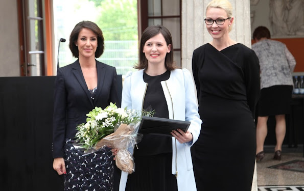 HRH Princess Marie of Denmark attends the Unesco / L'Oreal ''Scholarships for Women in Science' award at the Royal Danish Academy