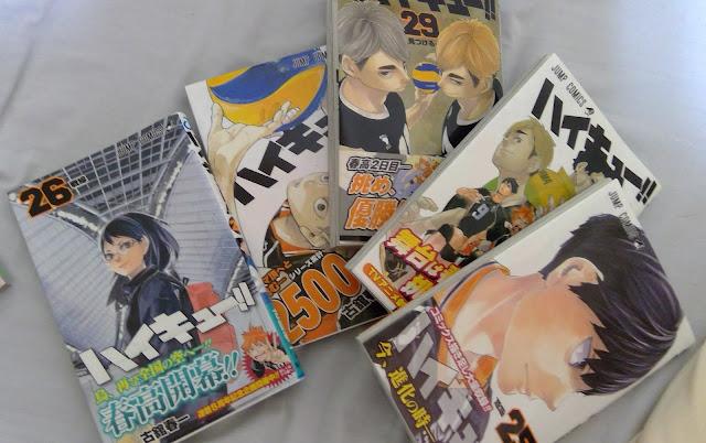 日本を代表するコミック、ハイキュー!!
