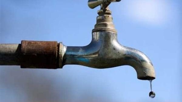 انقطاع المياه عن مناطق بمصر