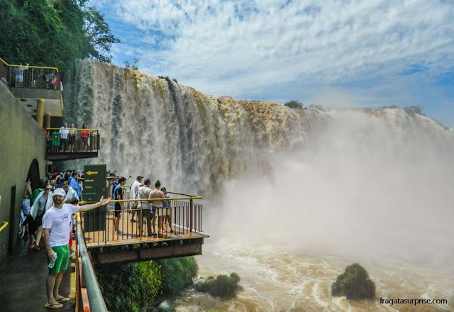 Garganta do Diabo, nas Cataratas do Iguaçu