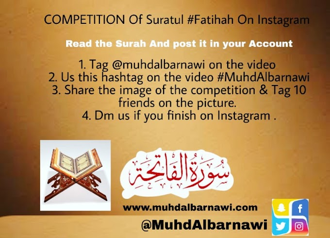Competition of Suratul Fatihah on Instagram