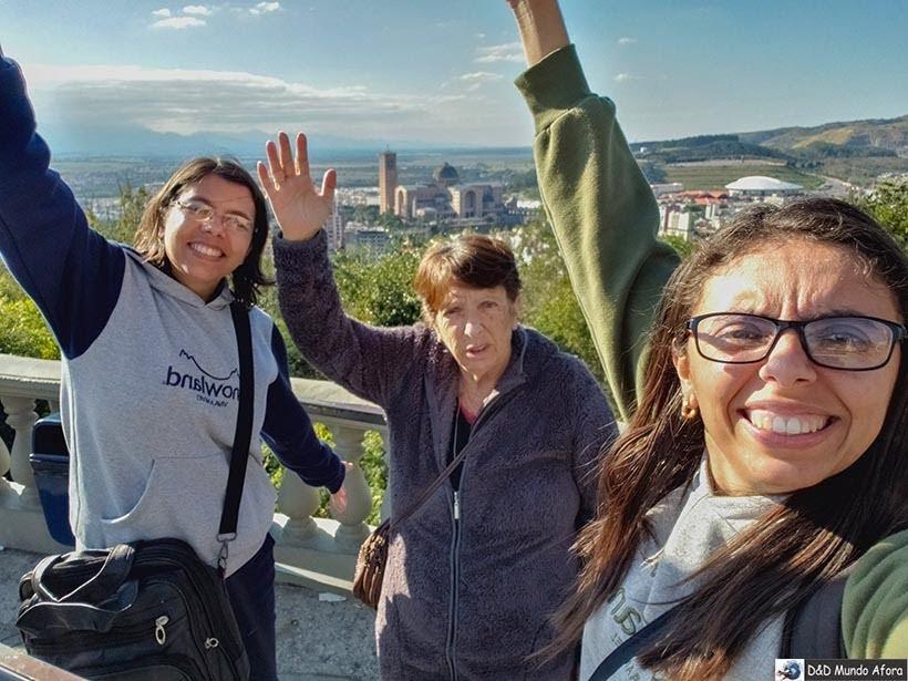 Mirante e Morro do Cruzeiro - o que fazer em Aparecida - São Paulo