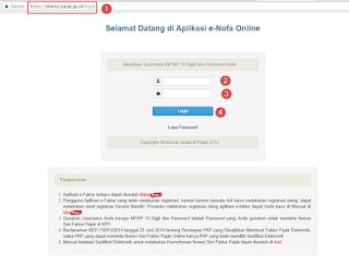 cara meminta jatah nomor seri faktur pajak online