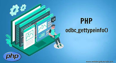 PHP odbc_gettypeinfo() Function