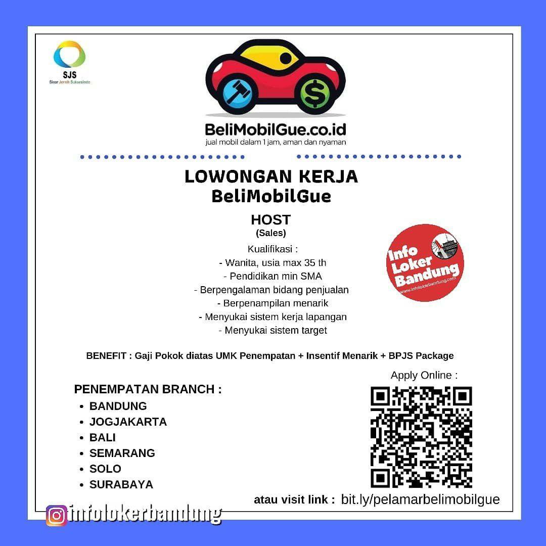 Lowongan Kerja BeliMobilGue PT. Sinar Jernih Suksesindo Bandung Oktober 2019