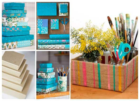 cambiar caja de zapatos, como decorar una caja