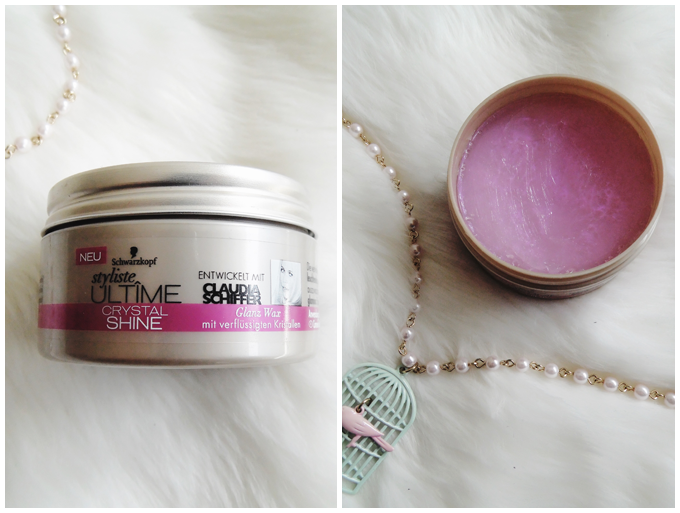 favorite five beauty products | February 2016 | schwarzkopf ultime crystal shine wax | more details on my blog http://junegold.blogspot.de | life & style diary from hamburg | #beauty #schwarzkopf #hairwax